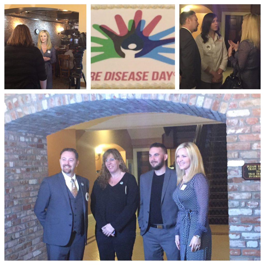 images from rare disease day event
